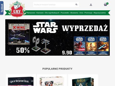 Gryplanszowe24.pl gry planszowe na prezent