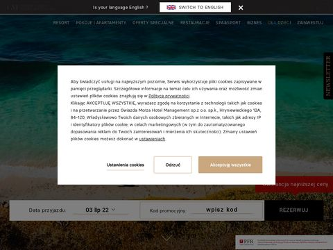 Gwiazda Morza Apart Hotel - apartamenty nad morzem