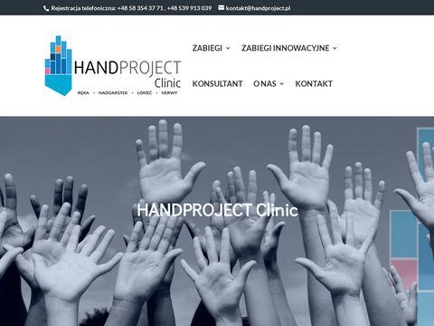 Chirurg r臋ki - Handproject Clinic