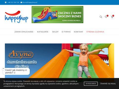 HAPPY SHOP G�OGÓW trampoliny ogrodowe dla dzieci