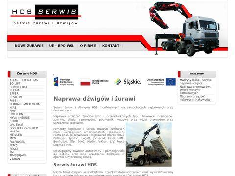 Hydrauliczne dźwigi samochodowe
