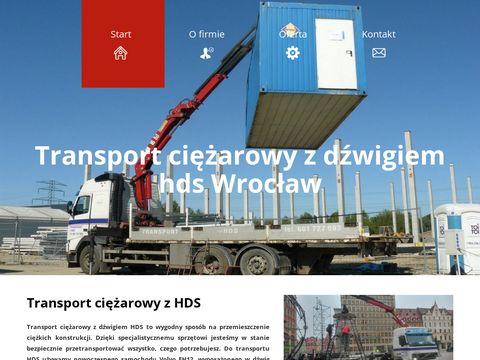 Transport HDS - hdsdzwigtransport.com