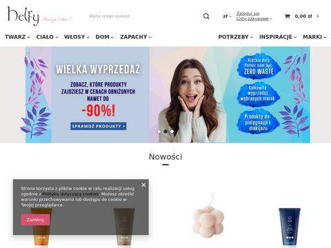Zdrowy styl życia kosmetyki naturalne