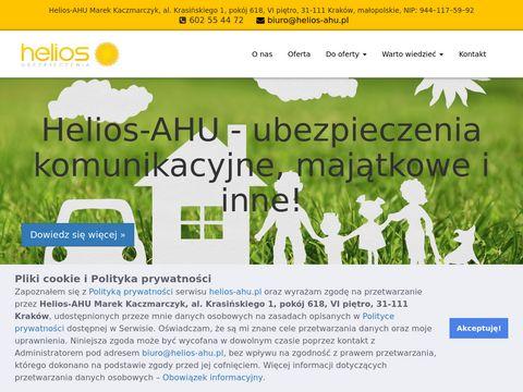 HELIOS M. KACZMARCZYK ubezpieczenia proama krak贸w