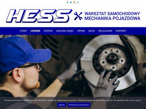 Warsztat samochodowy warszawa - hess.com.pl