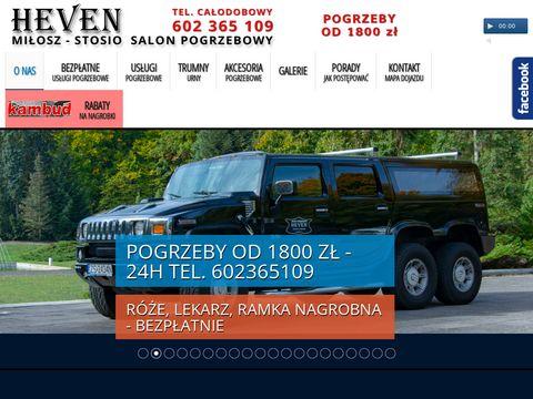 Zakład pogrzebowy HEVEN w Szczecinie