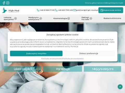 HIGH-MED kosmetyczka żoliborz