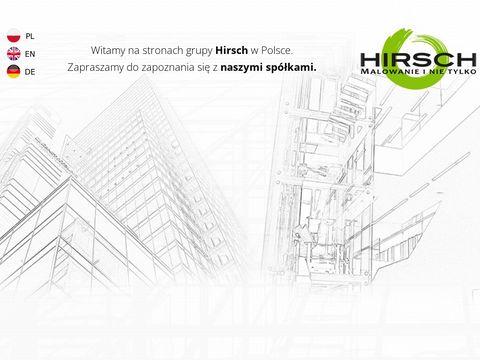 Hirsch-polska.pl wygłuszanie pomieszczeń Warszawa