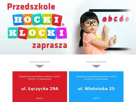 Hocki Klocki - prywatne przedszkola