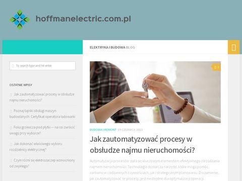 Hoffman Electric - Instalacje i Pomiary Elektryczne
