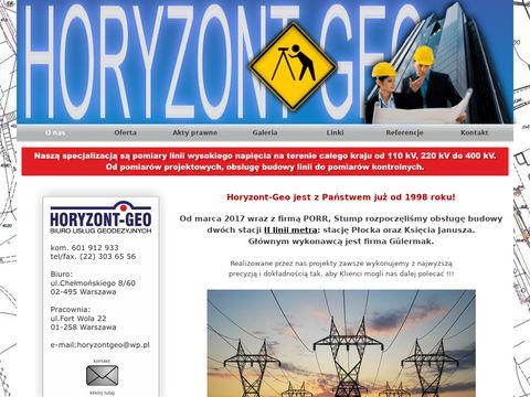 Horyzont-Geo - geodeta Warszawa