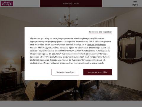 Hotele w Toruniu
