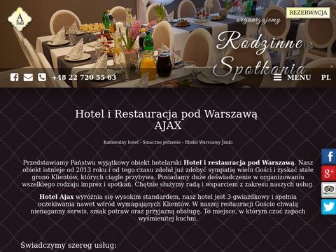 AJAX organizacja konferencji Warszawa