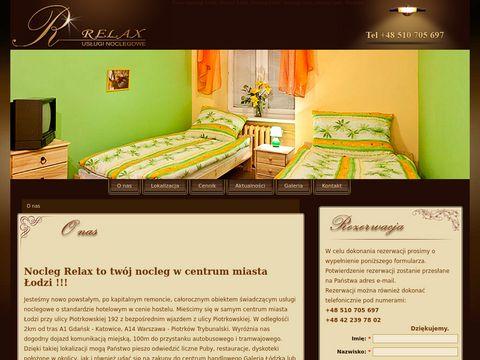 Noclegi �ódź - Hotelik Relax to tani nocleg w centrum �odzi