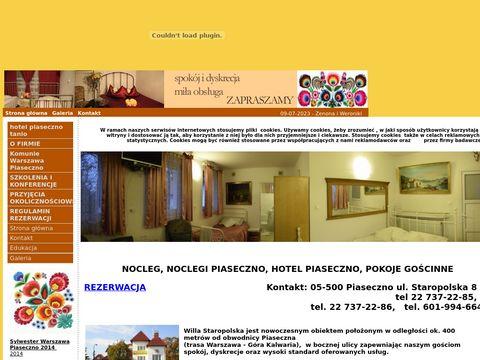 Noclegi Piaseczno