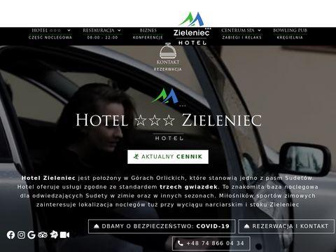 Www.hotelzieleniec.pl