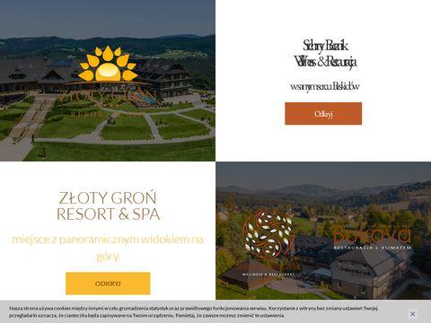 Hotel w beskidach - www.hotelzlotygron.pl