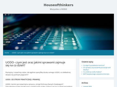 House of thinkers Us艂ugi prawne dla firm warszawa
