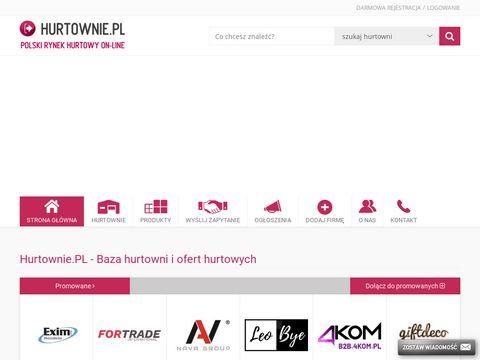 Hurtownie w Polsce. Producenci. Rynek B2B