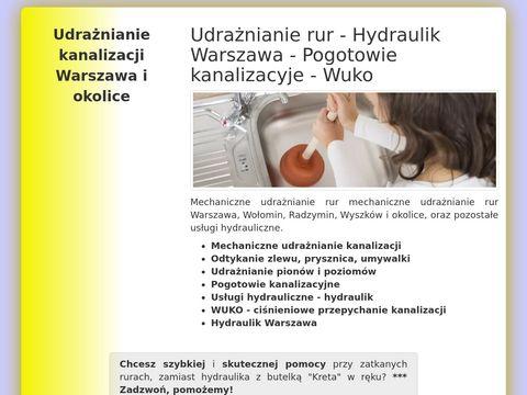 Hydraulik Warszawa i okolice - 24h