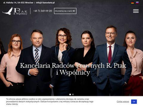 Pomoc prawna Wroc艂aw I-KANCELARIA