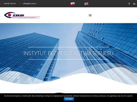 Instytut Bezpiecze艅stwa Biznesu Sp z o.o.