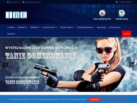 Rejestracja domen - www.ibe.pl