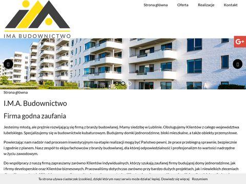Www.imabudownictwo.pl