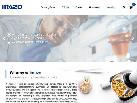 IMAZO - Artykuły i urządzenia dla systemu HACCP