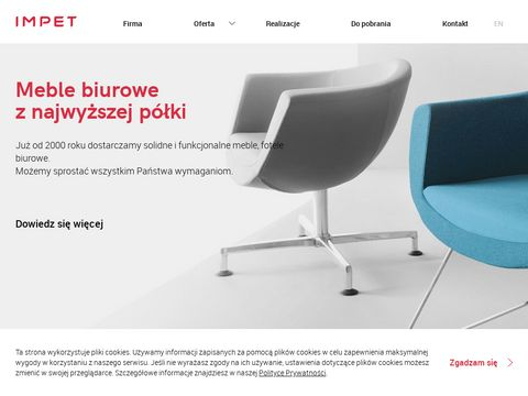 Krzesła biurowe i obrotowe | www.impet-meble.pl