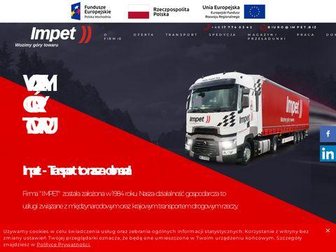 Mi臋dzynarodowy i krajowy transport towar贸w, spedycja