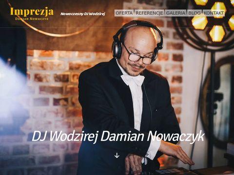 Imprezja Damian Nowaczyk Wodzirej Ostr贸w Wielkopolski