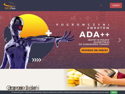 Infopiek - oprogramowanie dla cukierni