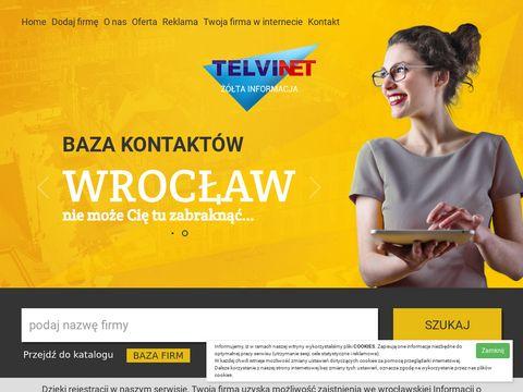 Informacja handlowa i usługowa Wrocław
