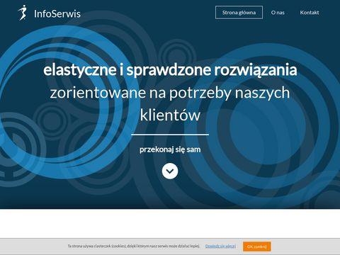 InfoSerwis – tworzenie stron WWW.