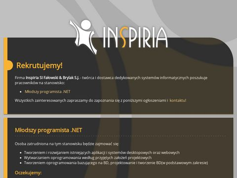 Inspiria systemy Informatyczne Fałowski & Brylak Sp. J.
