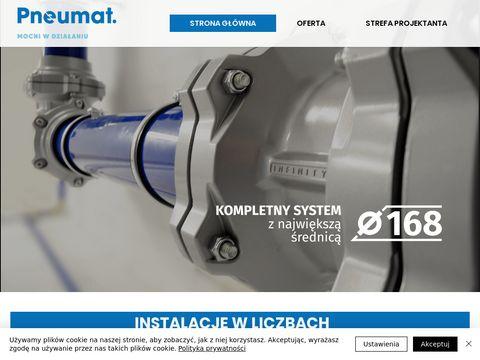 Instalacje Pneumatyczne - projektowanie i monta偶