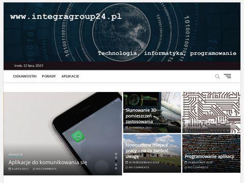 Blog informatyczny - Blog stworzony dla ludzi, których ciągnie do komputerów