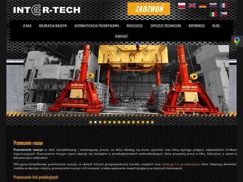 Transport, montaż i złomowanie maszyn - INTER-TECH