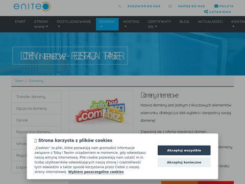 Interial - Rejestracja domen, hosting www.