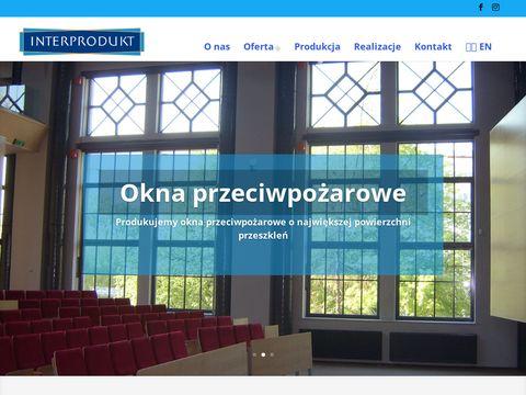 Okna stalowe przeciwpożarowe - interprodukt.pl