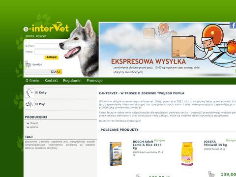 Intervet24- sklep dla zwierzÄ…t