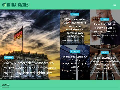 INTRA BIZNES - szkolenia menadżerskie i biznesowe