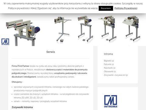 Introma - produkcja i sprzedaż maszyn poligraficznych