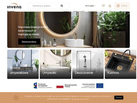 INVENA baterie umywalkowe polski producent