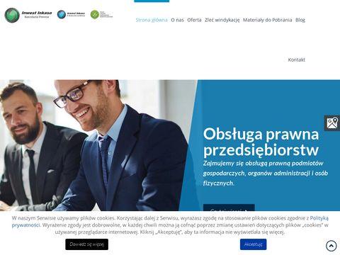 Inwestinkaso.pl obsługa wierzytelności łódź