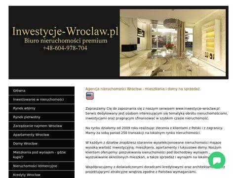 Inwestycje Wroclaw
