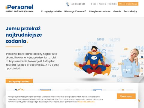 System kadrowy - ipersonel.pl