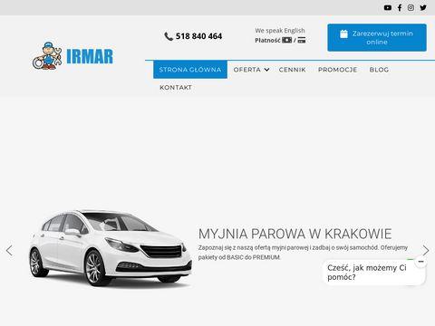 Serwis samochodowy IRMAR Kraków - warsztat, mechanika, serwis klimatyzacji