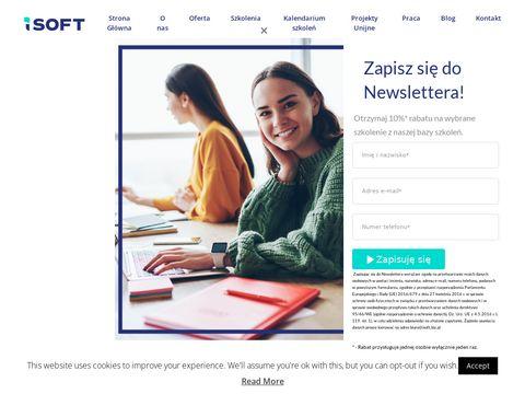ISOFT - Szkolenia Excel, IT, Transport i Spedycja